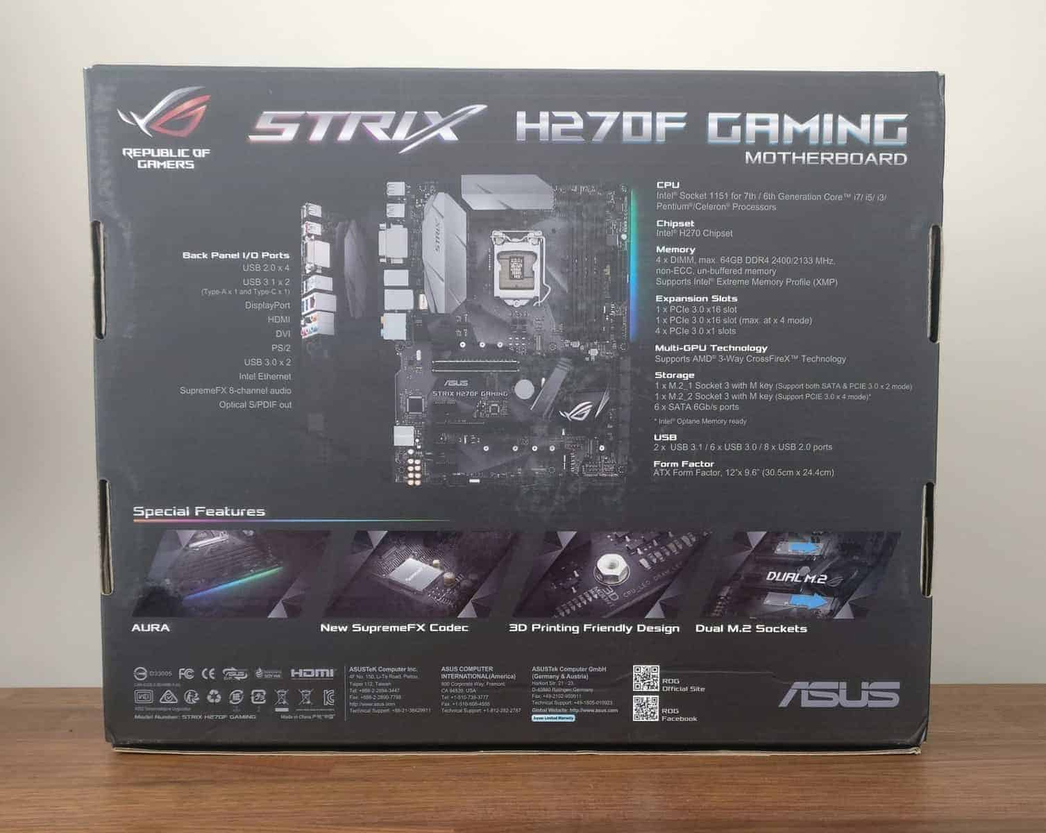 Asus-Strix-Motherboard-Photos-02 Asus Strix H270F ROG Gaming Motherboard Review