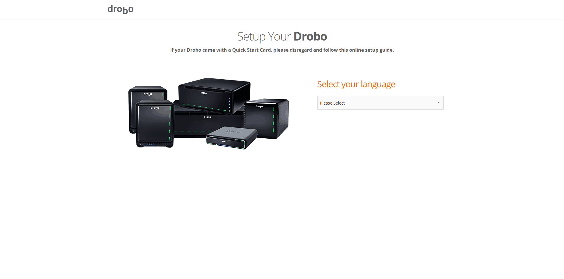 Drobo-5N2-Setup01 Drobo 5N2 5-Bay NAS Review