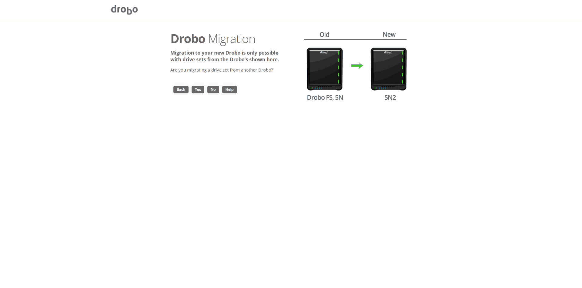 Drobo-5N2-Setup03 Drobo 5N2 5-Bay NAS Review