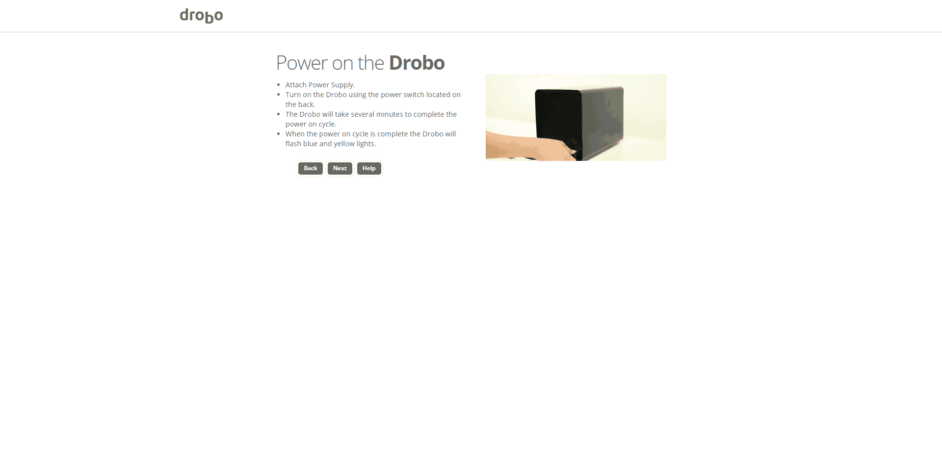 Drobo-5N2-Setup06 Drobo 5N2 5-Bay NAS Review