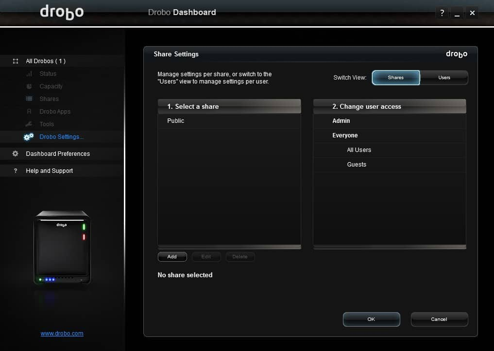 Drobo_5N_Screens-10 Drobo 5N 5 Bay NAS Review