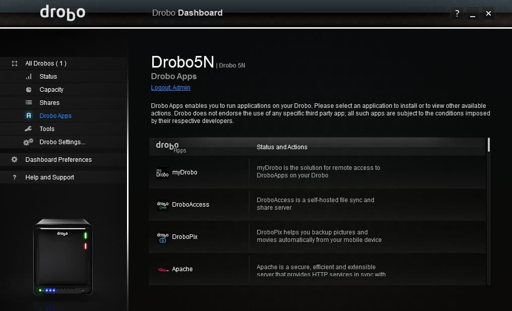Drobo_5N_Screens-12 Drobo 5N 5 Bay NAS Review