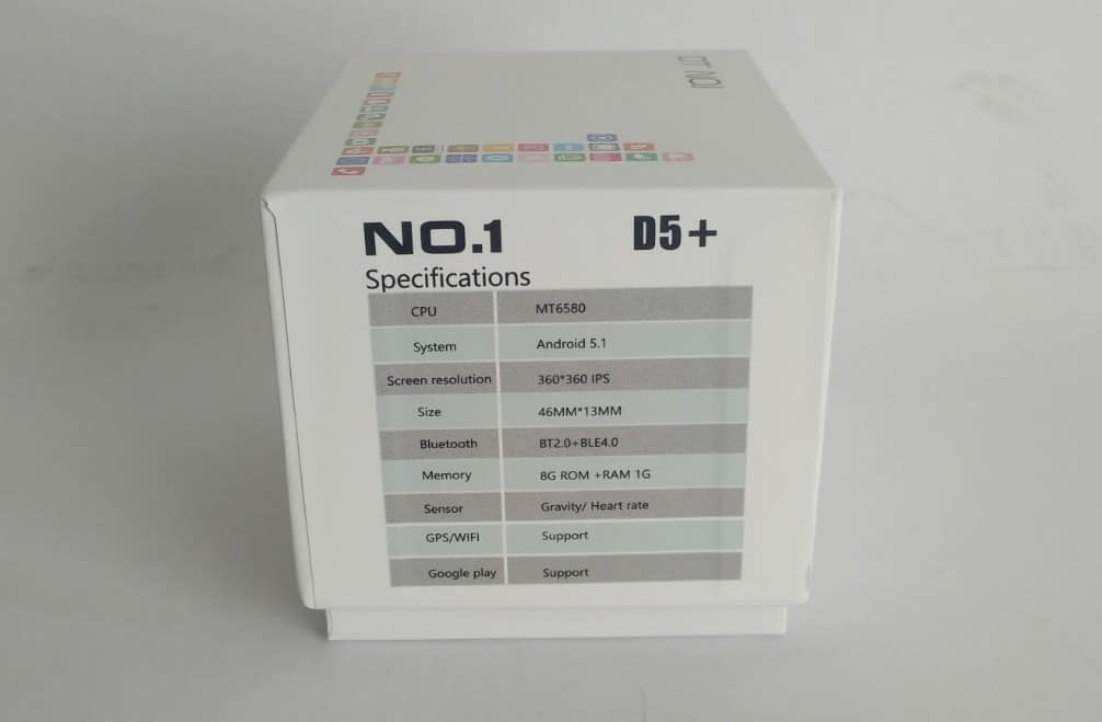 No.1-D5_-photo17 No.1 D5+ Android Smart Watch Review