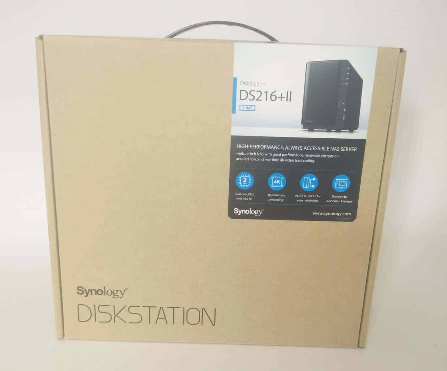 Synology-DS216II-Photo-01 Synology DS216+II 2 Bay NAS Review