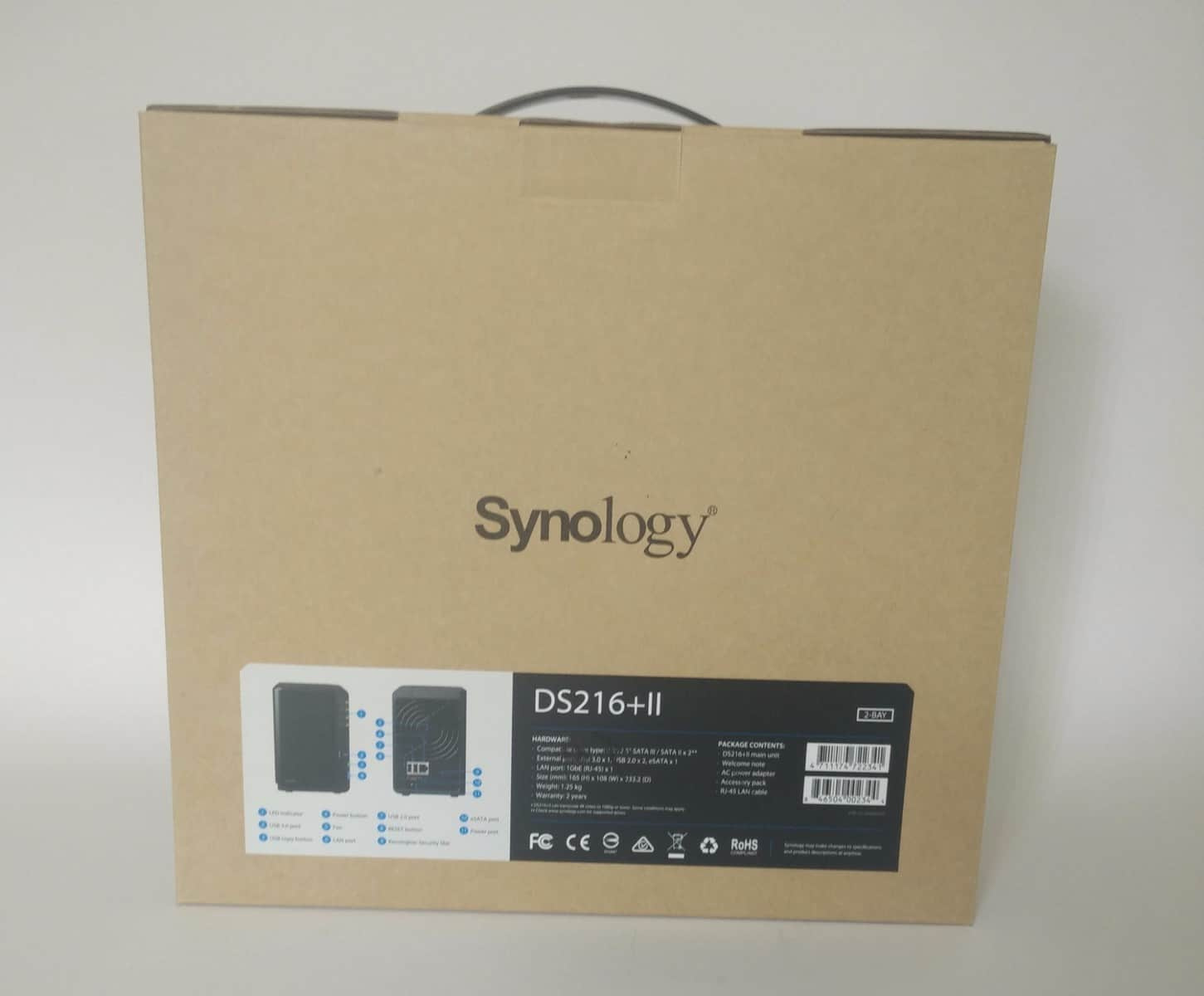 Synology-DS216II-Photo-03 Synology DS216+II 2 Bay NAS Review
