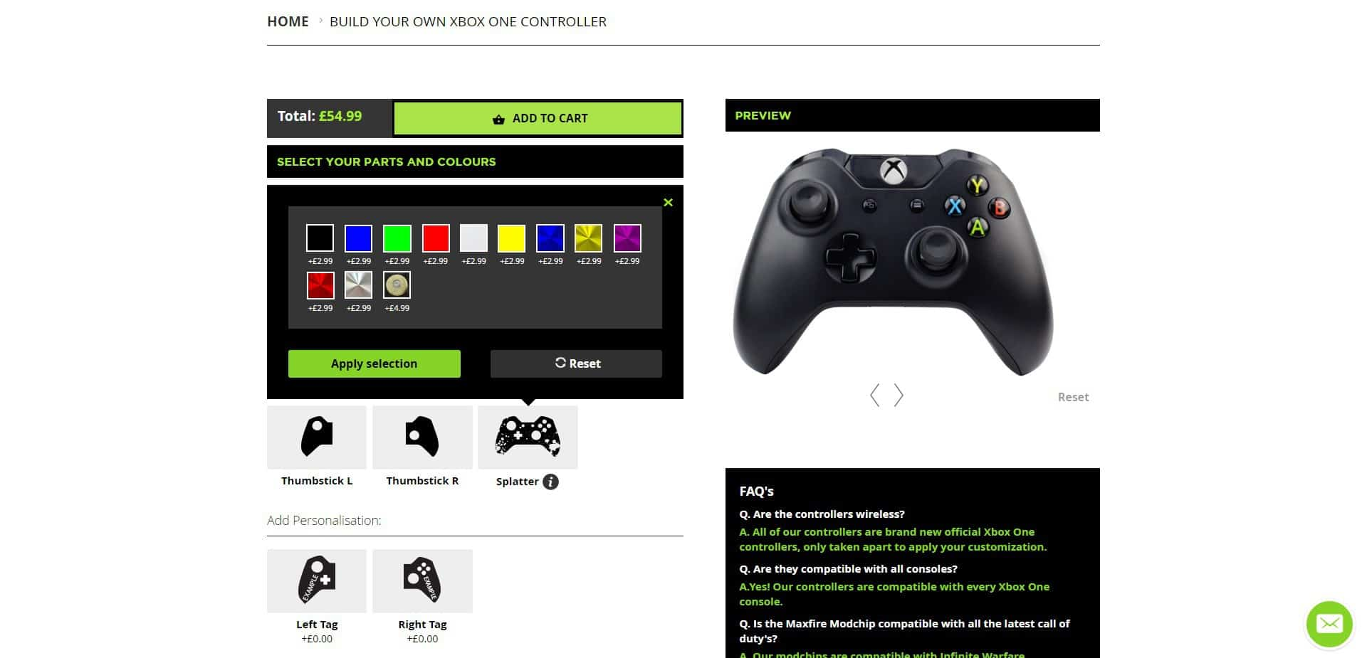 abxy-buttons Controller Modz Modded Xbox One Controller Review