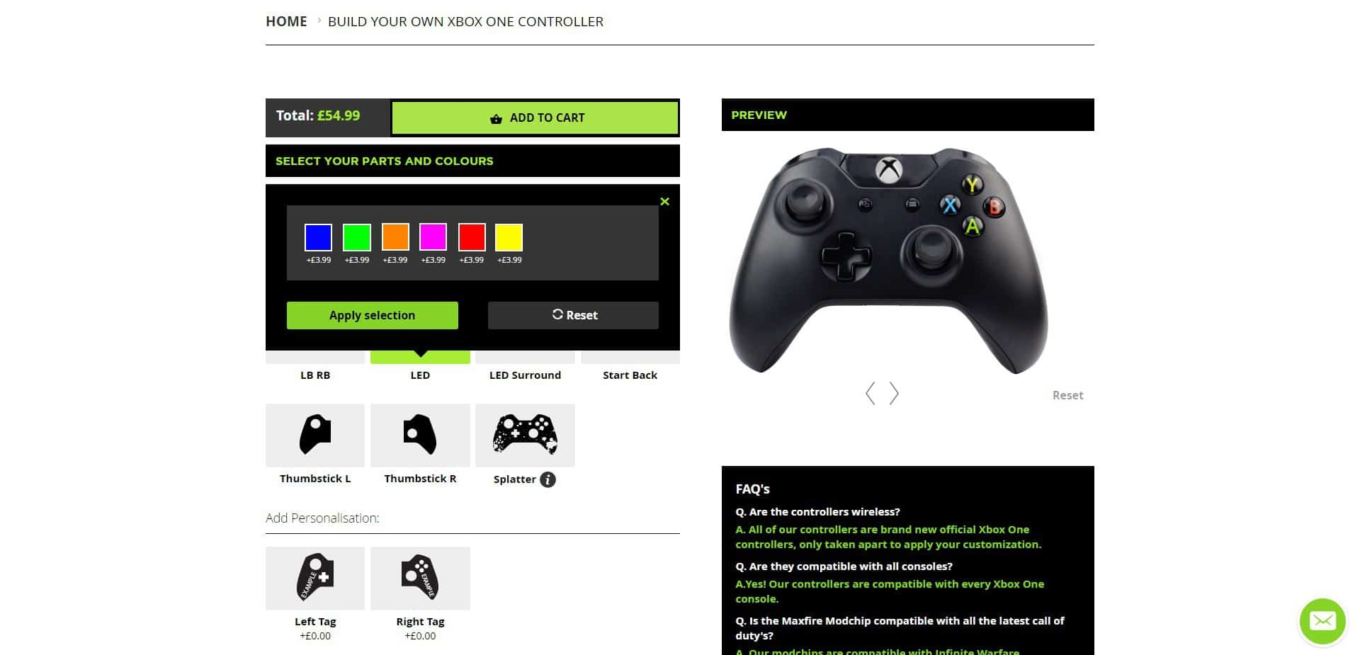 led Controller Modz Modded Xbox One Controller Review