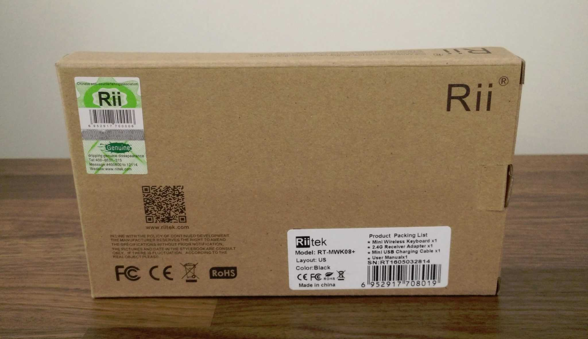 Rii I8 Wireless Keyboard Review The Streaming Blog Mini With 3 Colour Backlight Riitek Photo 01
