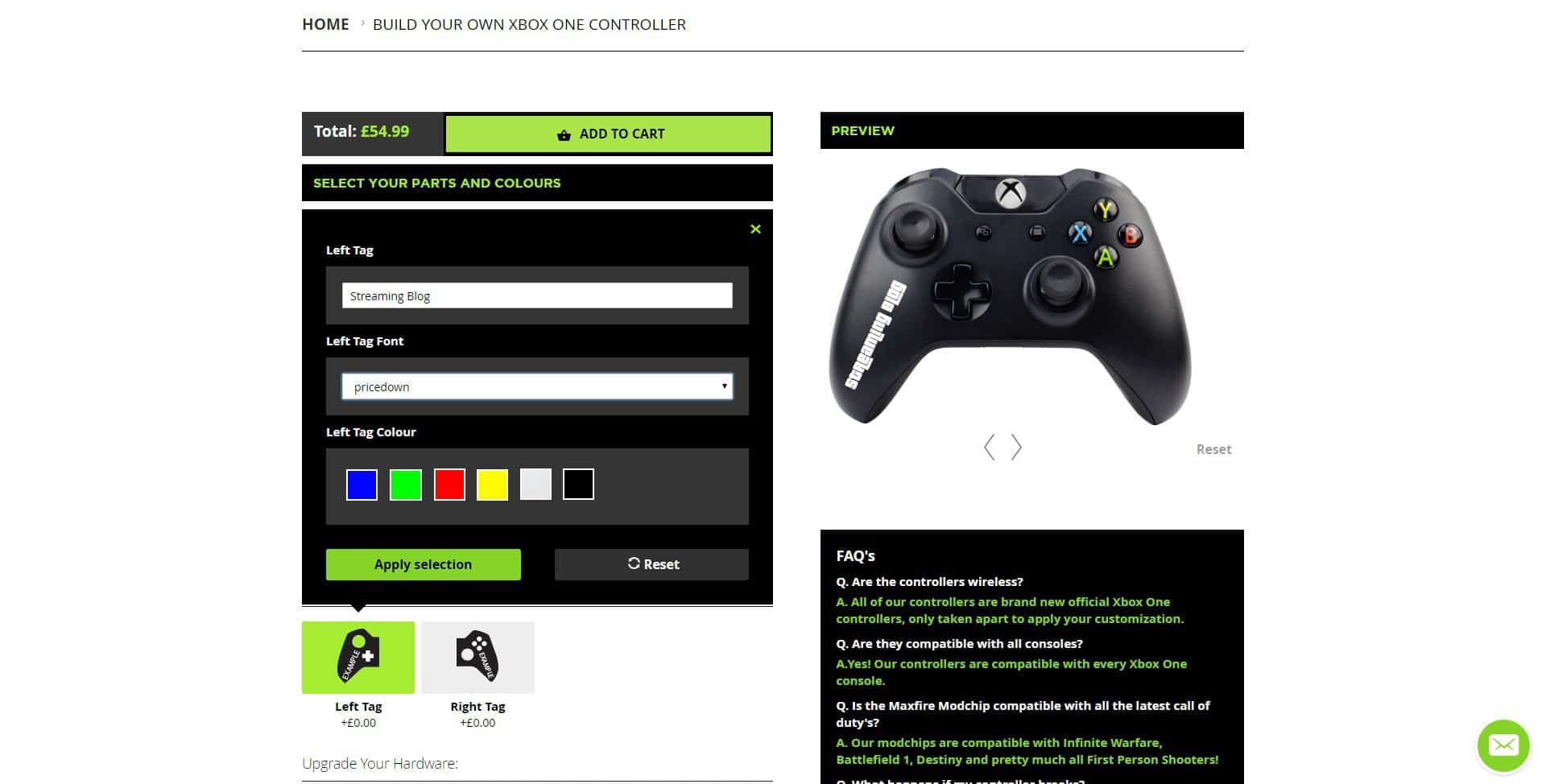 tag Controller Modz Modded Xbox One Controller Review
