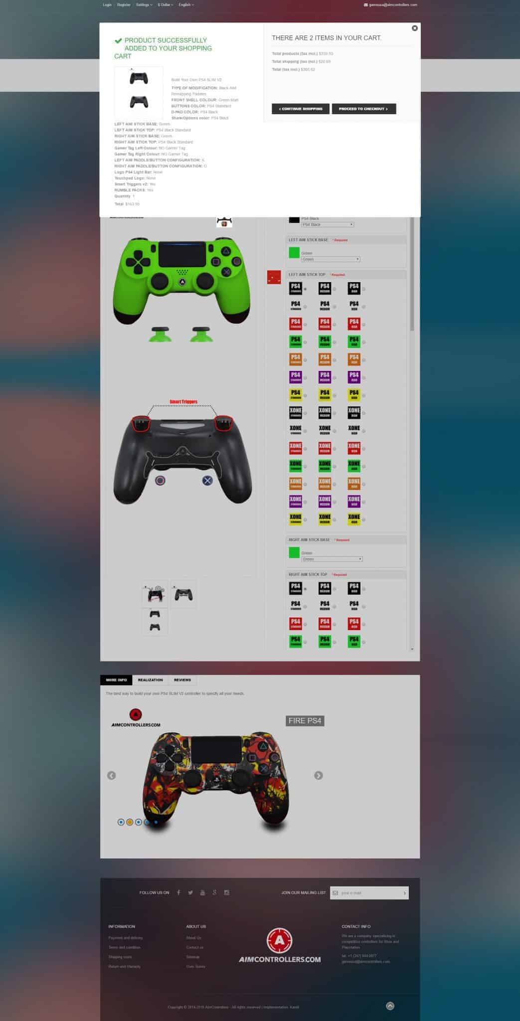Aim Controllers Ps4 And Xbox One Modded Controller Review