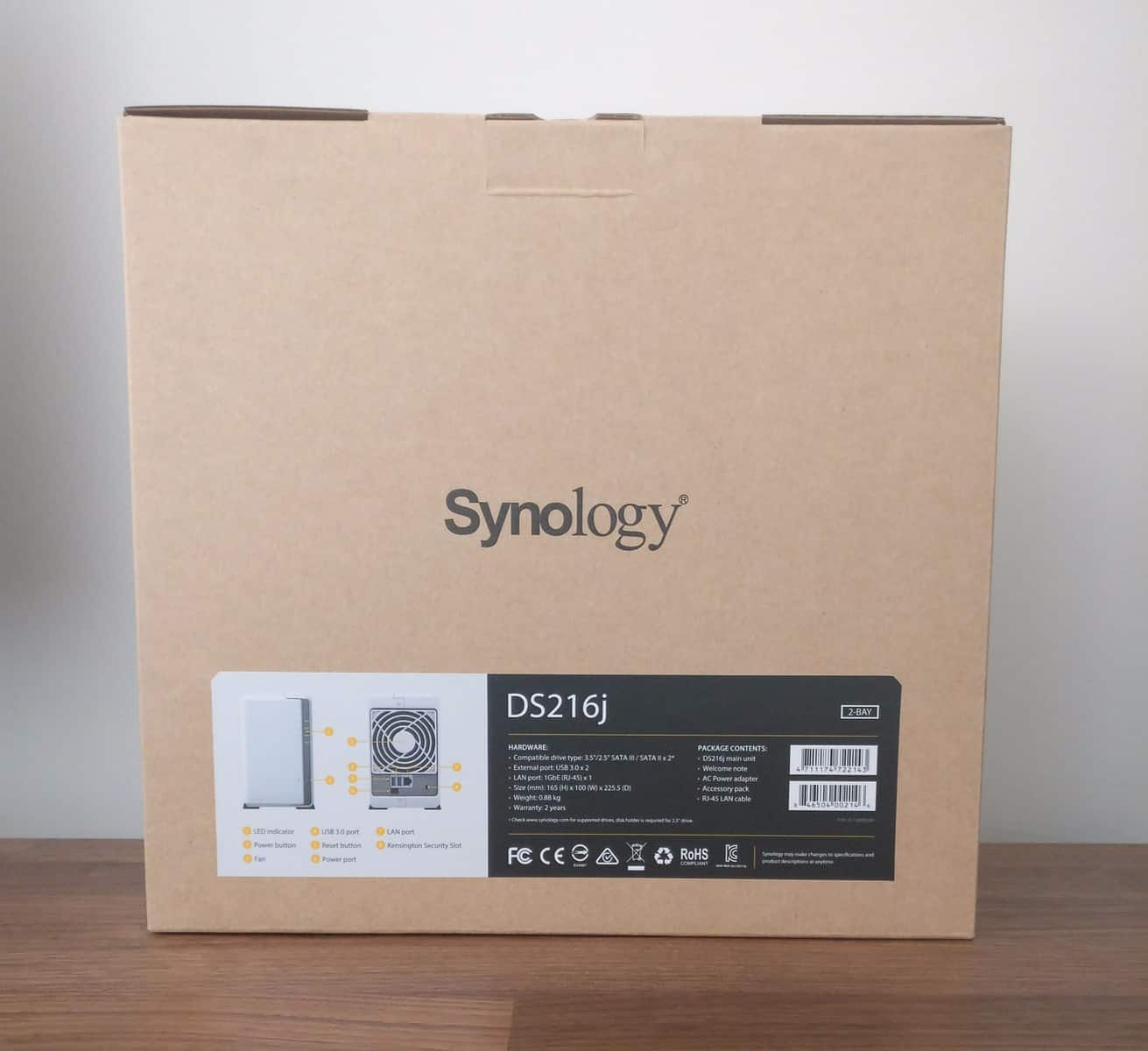 Synology-DS216J-NAS-Photos-03 Synology DS216J 2 Bay NAS Review - The Perfect Backup Solution