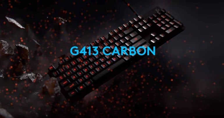 Logitech G413 Carbon Gaming Keyboard Review - The Streaming Blog