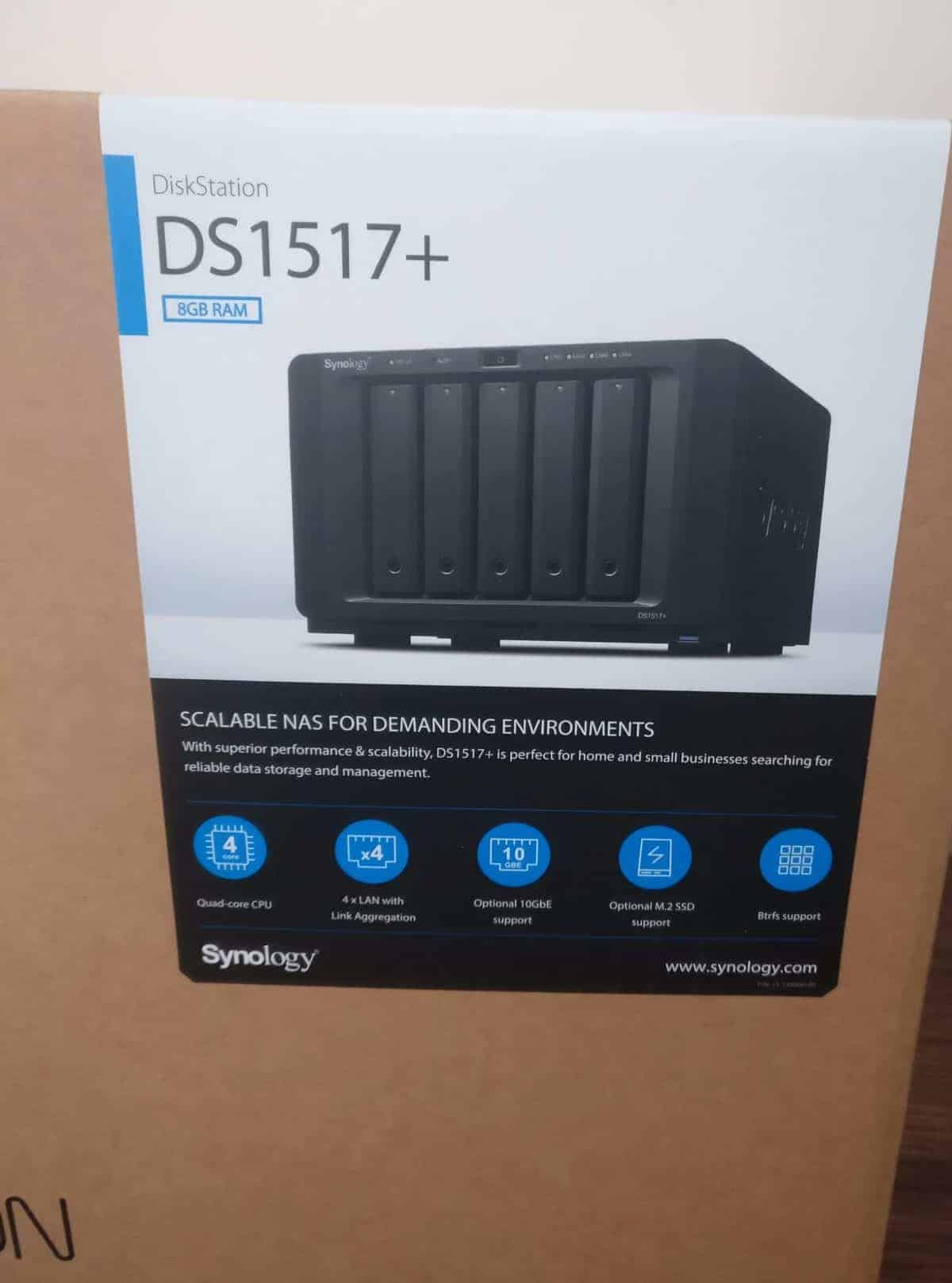 Synology-DS1517-Screens25 Synology DS1517+ 5 Bay NAS Review
