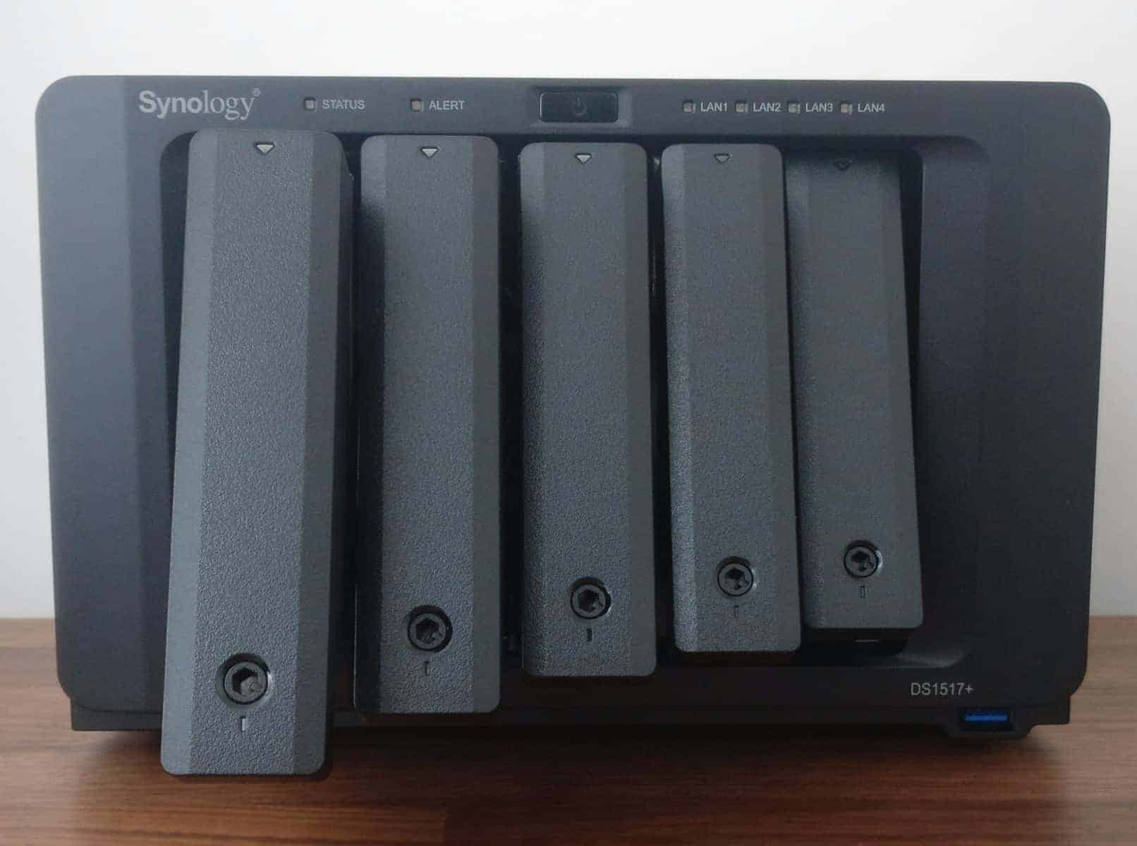 Synology-DS1517-Screens36 Synology DS1517+ 5 Bay NAS Review