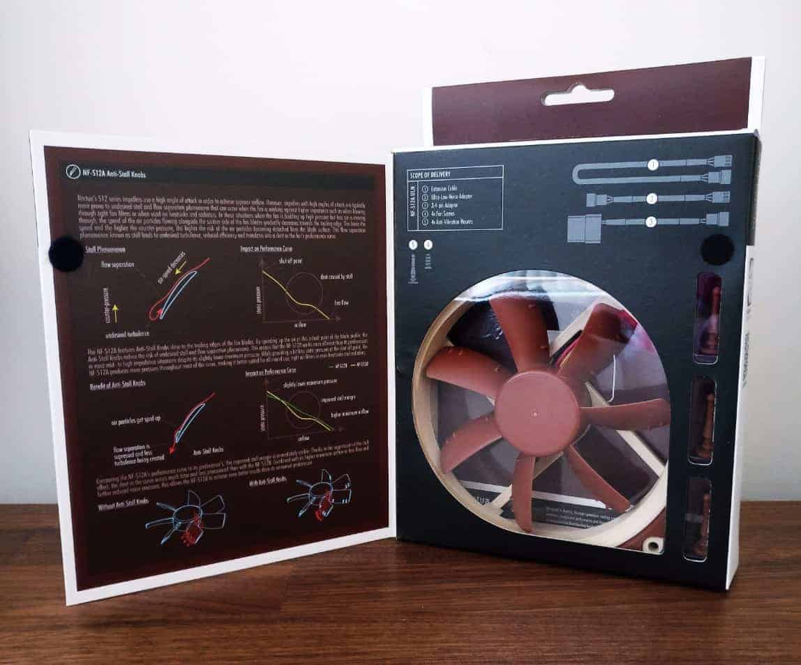 Noctua-Case-Fans-Photos05 Noctua NF-S12A 120mm Case Fan Review