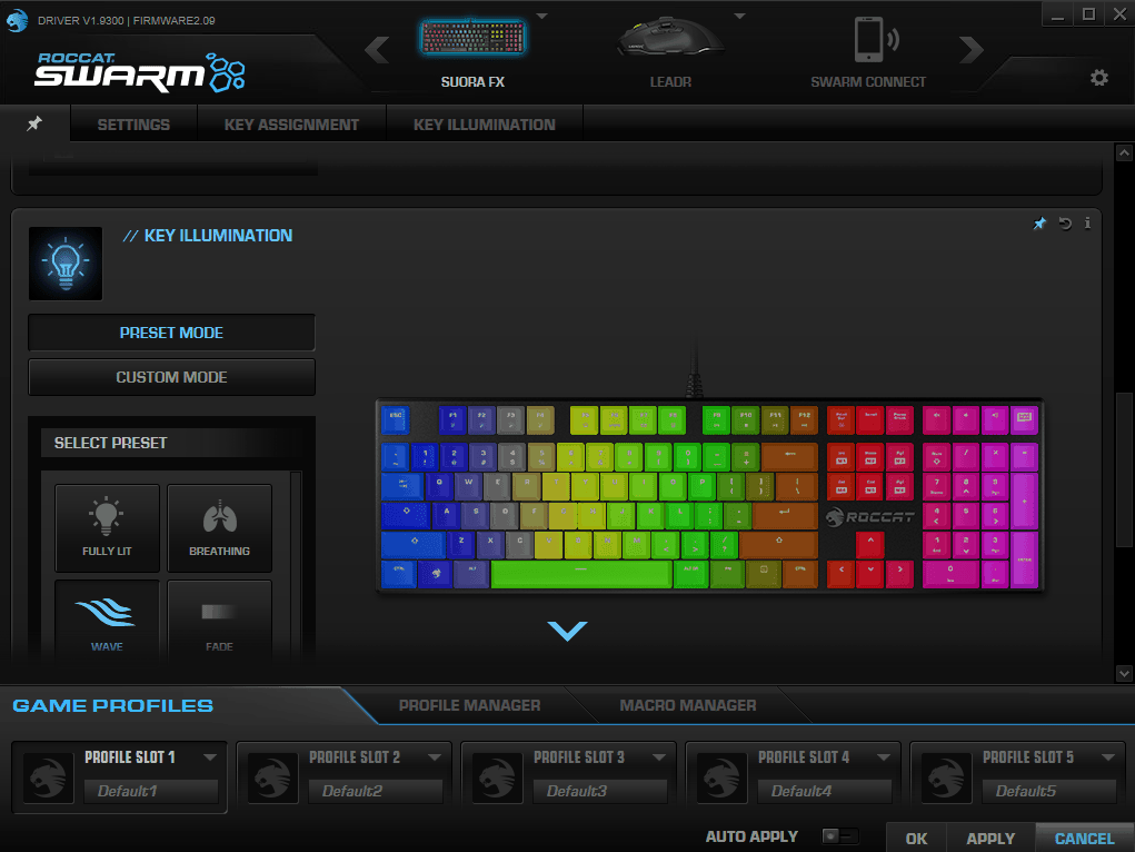 Roccat-suoara-software1-4 Roccat Suora FX RGB Mechanical Gaming Keyboard Review