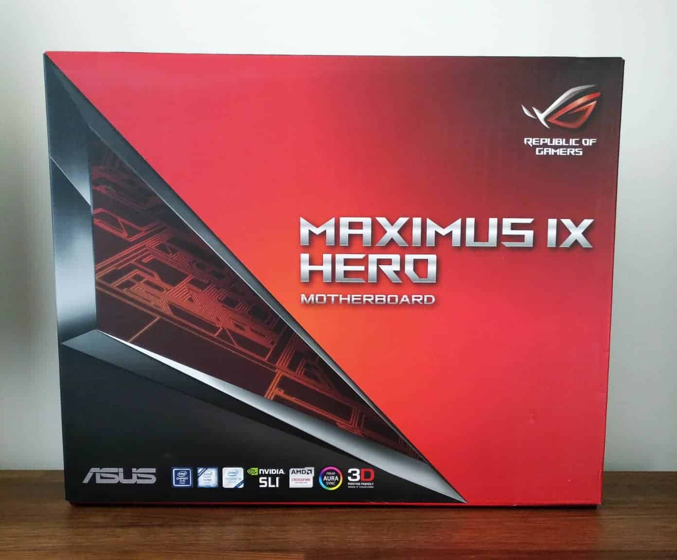Asus Rog Maximus Ix Hero Review