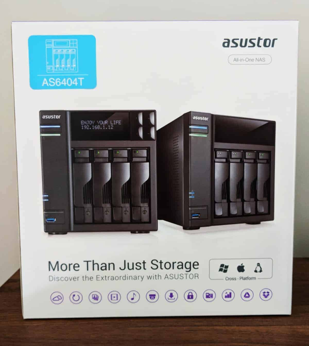 Asustor-NAS-Photos01 ASUSTOR AS6404T 4-BAY NAS Review