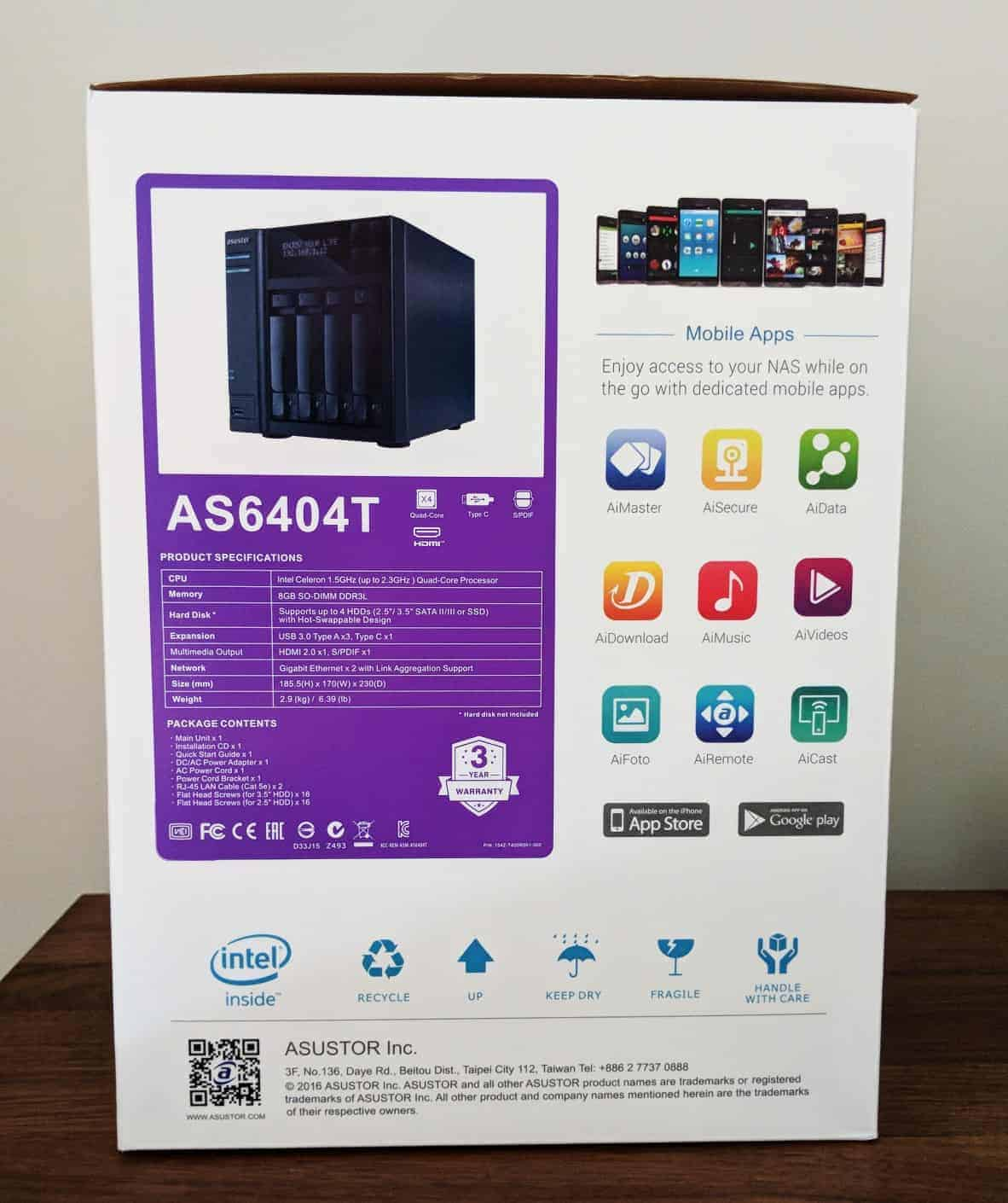 Asustor-NAS-Photos04 ASUSTOR AS6404T 4-BAY NAS Review