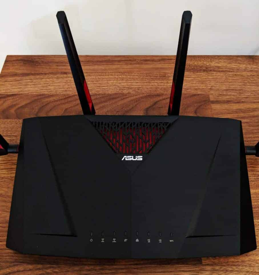 Asus Rt Ac88u Router Review The Streaming Blog Wireless Home Network Broadcom Diagram Photos51