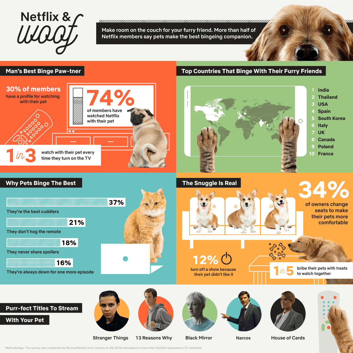 Woof_Visual-Press-Release_Global_FINAL NETFLIX & WOOF: Bingeing is for the Dogs (and Cats)