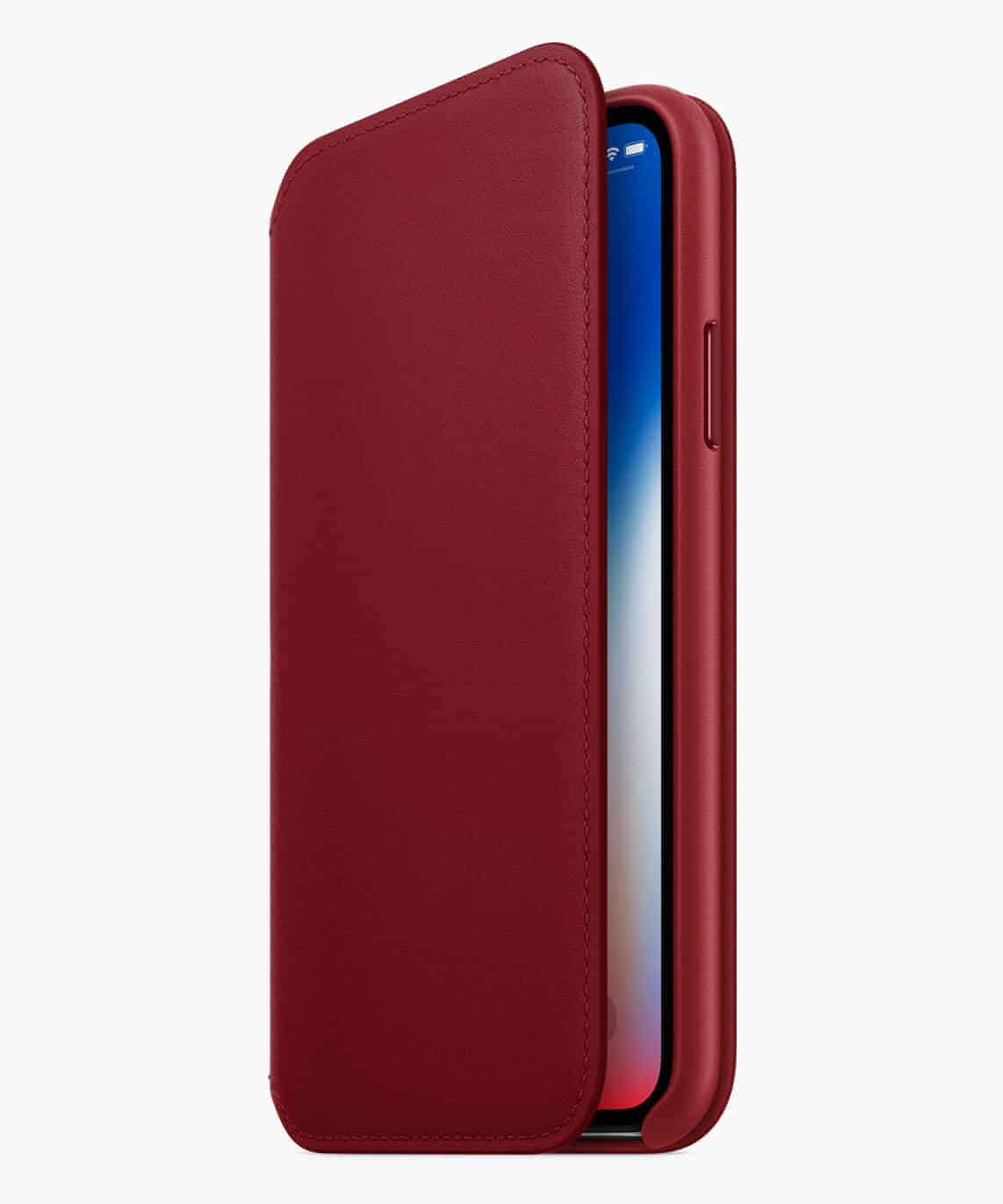 iPhone8-iPhone8PLUS-PRODUCT-RED_Folio-Case_041018-1 Apple Introduces iPhone 8 and iPhone 8 Plus (PRODUCT)RED Special Edition