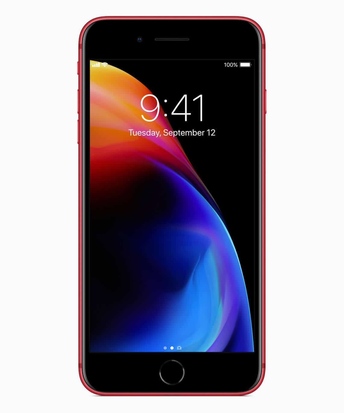 iPhone8PLUS-PRODUCT-RED_front_041018-1 Apple Introduces iPhone 8 and iPhone 8 Plus (PRODUCT)RED Special Edition