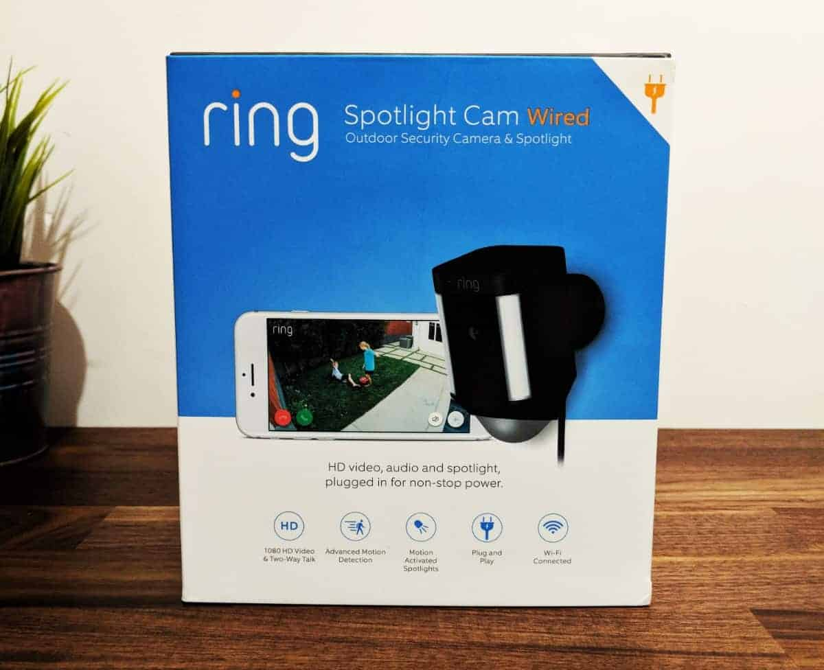 Ring Spotlight Cam Wired Review - The Streaming Blog