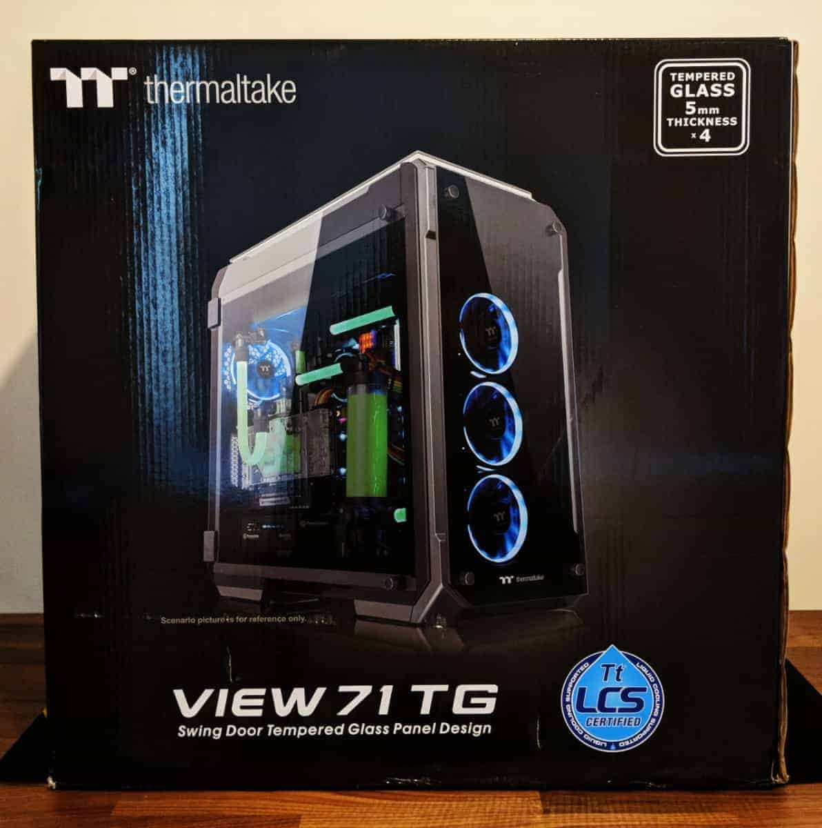 Thermaltake View 71 Tg Review The Streaming Blog Id Cooling 31 Photos 24