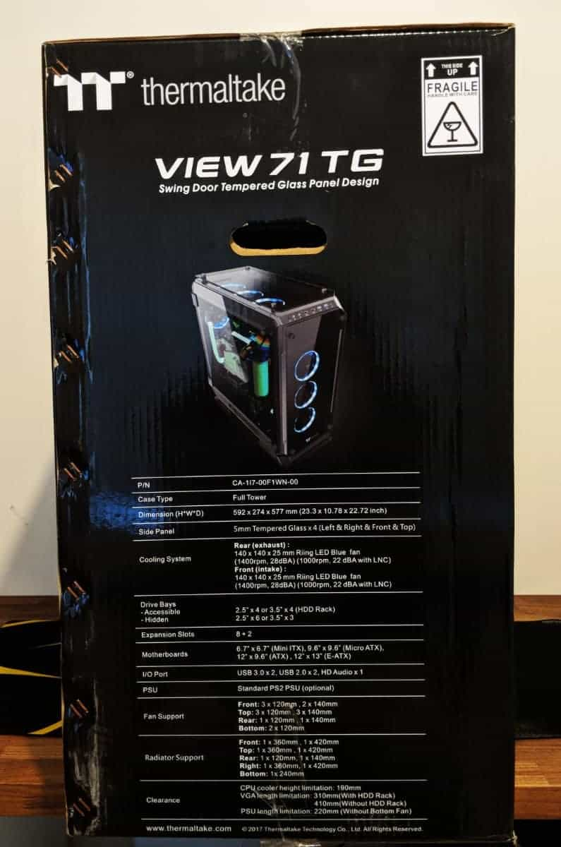 Thermaltake View 71 Tg Review The Streaming Blog Id Cooling 31 Photos 25