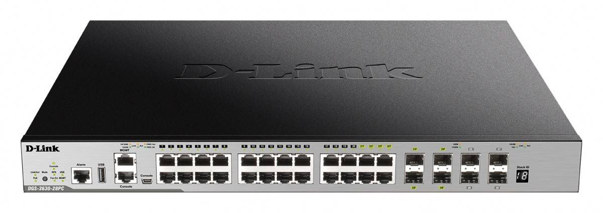 clip_image001-2 D-Link Launches DGS-3630 Layer 3 Stackable Managed Gigabit Switches