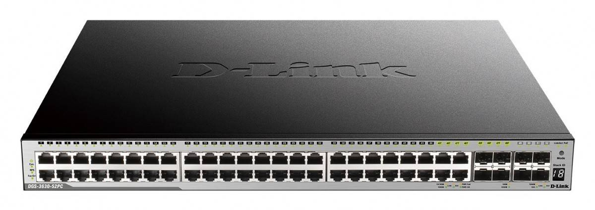 dlinkrouter D-Link Launches DGS-3630 Layer 3 Stackable Managed Gigabit Switches