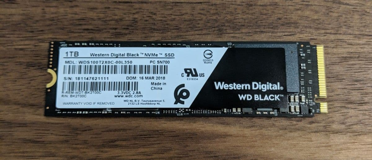 Wd 1tb Black Nvme Ssd Review The Streaming Blog