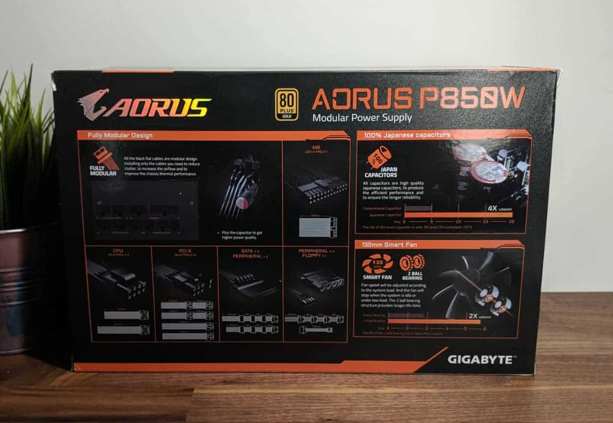 Aorus-P850w-PSU-Photos-10 AORUS P850W 80+ Gold PSU