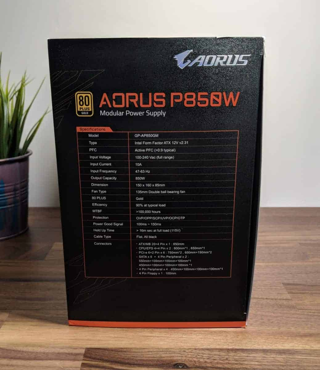 Aorus-P850w-PSU-Photos-11 AORUS P850W 80+ Gold PSU