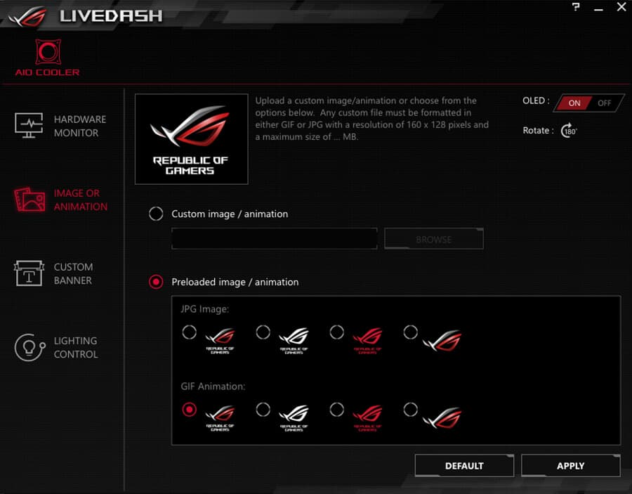 ui-02 Asus ROG Ryuo 240 Review