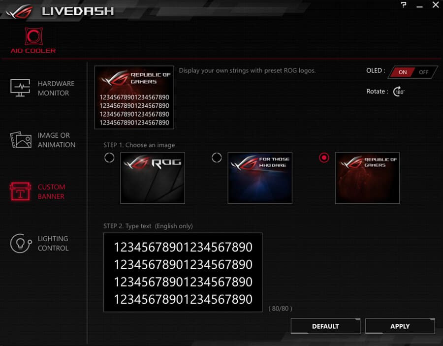 ui-03 Asus ROG Ryuo 240 Review