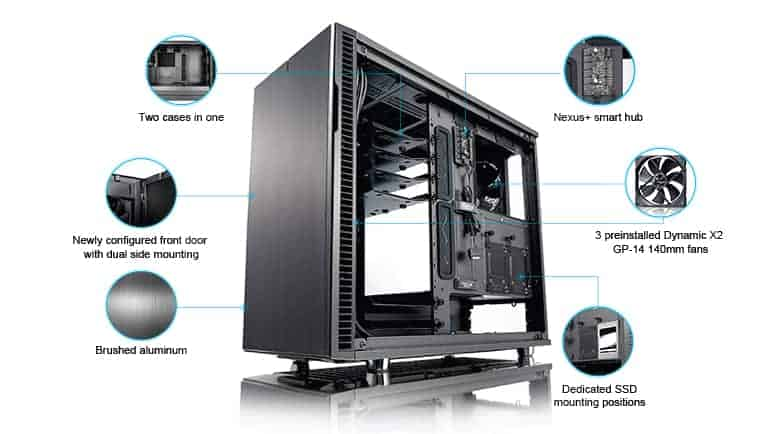 d501e3f4-e170-4967-ae35-67a8fa25a6a0 Fractal Design Define R6 USB-C TG Review