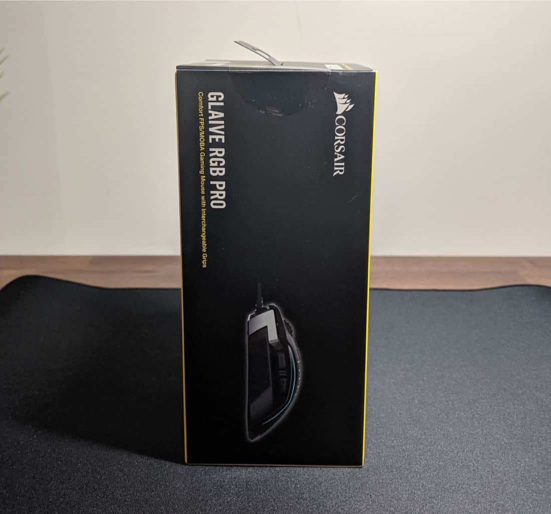 Corsair Glaive RGB Pro Review - The Streaming Blog