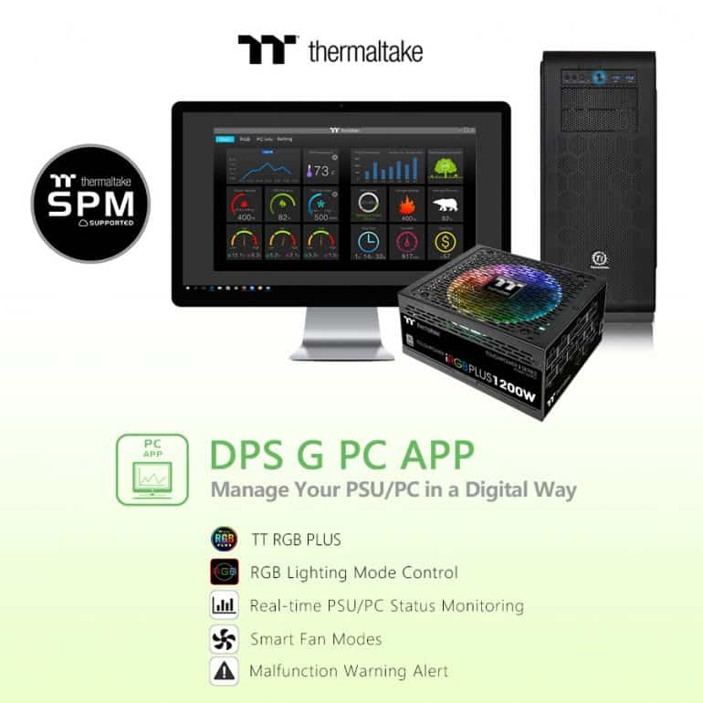 Thermaltake Upgrades the DPS G APP - The Streaming Blog
